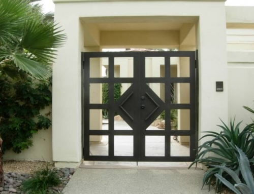 Customized Window Gate